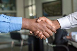 Saleskanalen zakendoen buitenland