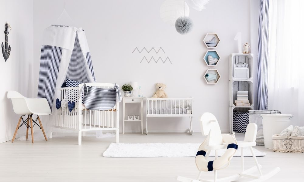 Stijlvolle babykamer